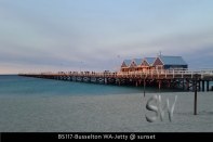 BS117-Busselton-WA-Jetty-@-sunset
