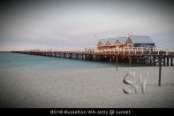 BS118-Busselton-WA-Jetty-@-sunset