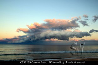 CSSS259-Durras-Beach-NSW-rolling-clouds-at-sunset