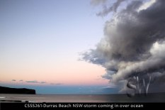 CSSS261-Durras-Beach-NSW-storm-coming-in-over-ocean