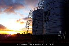 CSSS293-north-hyden-wa-silos-at-sunset