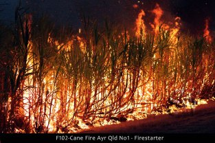 F102-Cane-Fire-Ayr-Qld-No1
