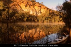 LR125-Ellendale-Pool-near-Geraldton-WA-sunrise