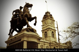 MB148-Ballarat-VIC-Boer-War-Memorial-&-Town-Hall