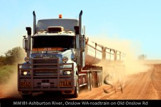 MM181-Ashburton-River,-Onslow-WA-roadtrain-on-Old-Onslow-Rd