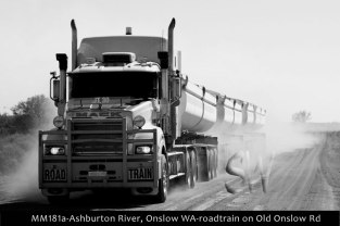 MM181a-Ashburton River,-Onslo- WA-roadtrain-on-Old-Onslow-Rd