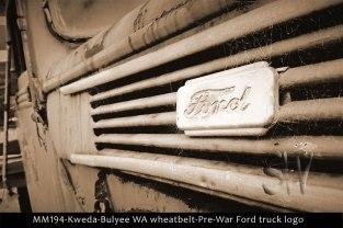 MM194-Kweda-Bulyee-WA-wheatbelt-Pre-War-Ford-truck-logo