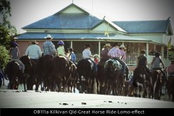 OB111a-Kilkivan-Qld-Great-Horse-Ride-Lomo-effect