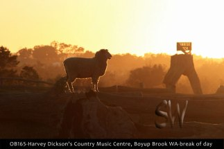 OB165-Harvey-Dickson's-Country-Music-Centre,-Boyup-Brook-WA-break-of-day