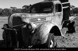 OB171-Kweda-Bulyee-WA-wheatbelt-Ford-truck-b&w