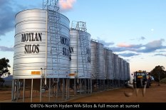 OB176-north-hyden-wa-silos-full-moon-at-sunset