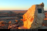 RS181-Deon's-Lookout-Qld-memorial-at-sunset