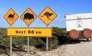 Roadsign, Nullarbor Plains