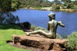 Statue overlooking Brookland Valley Estate