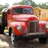 The Red Truck landmark,Island Brook Estate