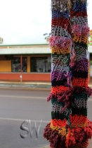 Keeping the pole warm in Toodyay, WA