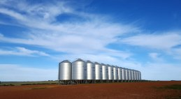 Silos on the hill