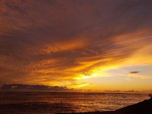 Sunset at 7 Mile Beach