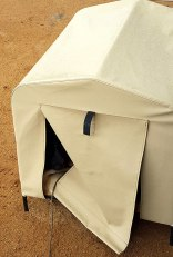Jeda's weather proof kennel