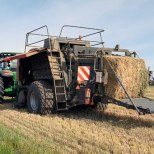 The hay baler