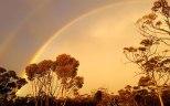 Rainbow at Hyden