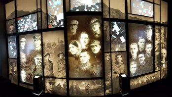 Albany - images of soldiers National Anzac Centre