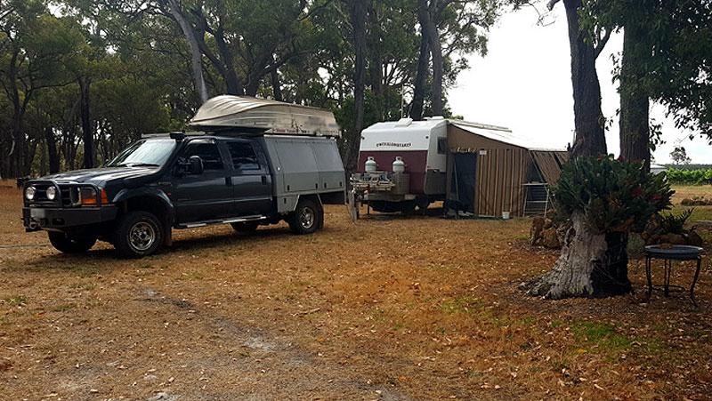 house-sit-mt-barker-our-campsite