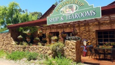 Exterior of Tearooms