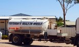 Just for giggles: on septic truck in Ceduna
