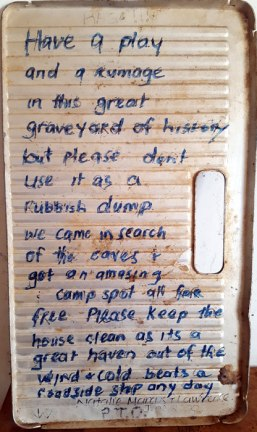 Koonalda-Homestead-hand-written-message