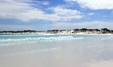 Wharton Beach-clean beach
