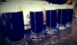 Warming up at breakfast with some Irish Coffees, Anzac Day