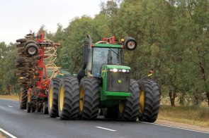 Watch out, Wide Load! near Wirrabara