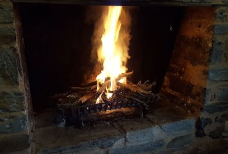 Nothing better than an open fire