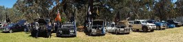 Clare Show - ute muster