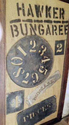 Bungaree bale stamps