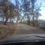 Driving thru area afterwards