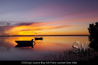 CSSS297-Laura-Bay-SA-Fiery-sunset-low-tide