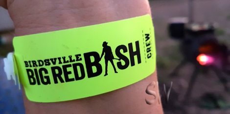 Got my Crew wrist band & ready to rock!