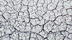 Just how dry the earth is in the outback