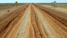 Was a bit muddy lately! Birdsville track
