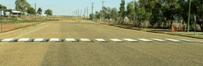 3D school crossing in Boulia