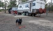 Back of Duaringa Hotel free camping