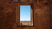 Views from ruins windows