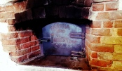 The wood oven in underground bakery, Farina