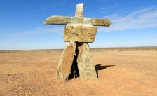 The Stone Man near Marree