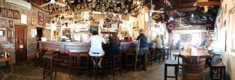 The Public bar in Birdsville Hotel