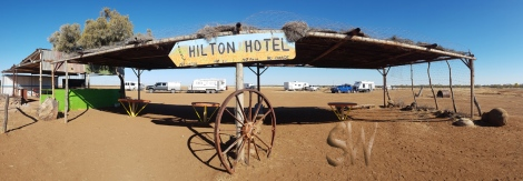 Middleton Hotel - opposite is The Hilton Hotel!!