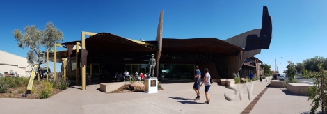 The new Waltzing Matilda Centre in Winton