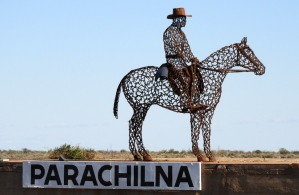 Brilliant sculpture @ Parachilna